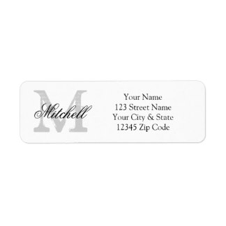 Return Address Labels