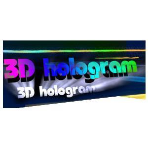 3D Hologram Labels