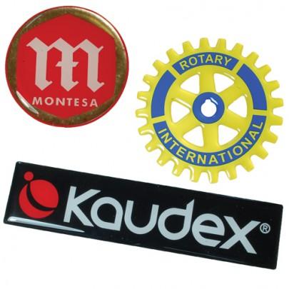 Custom Resin Domed Labels