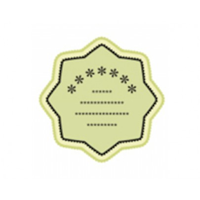 Die Cut Body Products Labels
