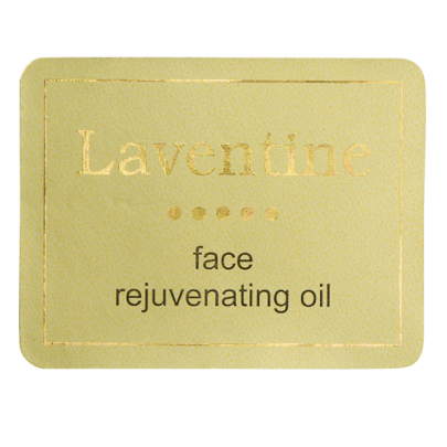 Rectangle Gold Labels