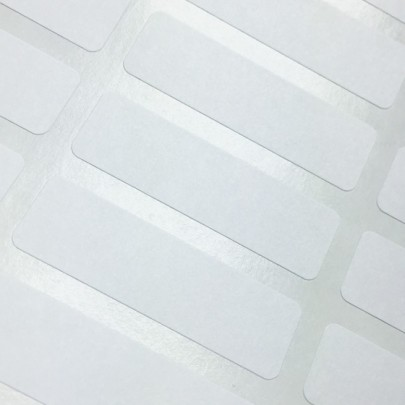 Rectangular Correction Labels