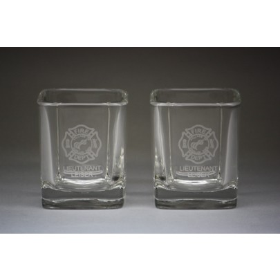 Square Frosted/Etched Labels