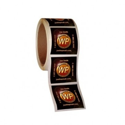 Square Roll Labels