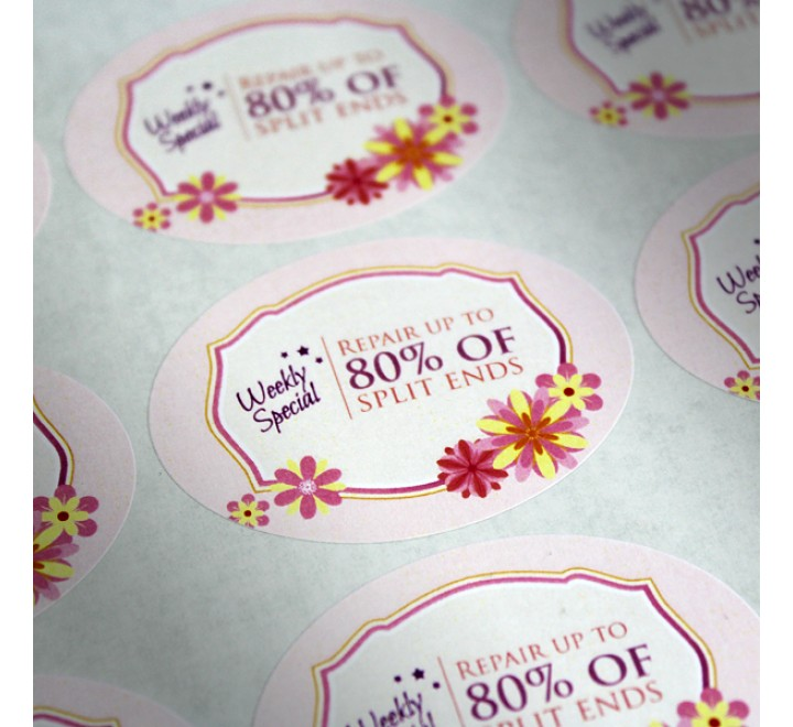 Custom Premium Paper Labels