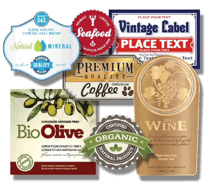 Custom Health & Beauty Labels