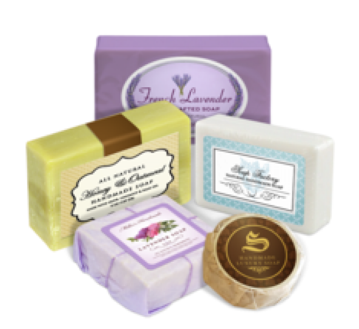 Die Cut Soap Labels