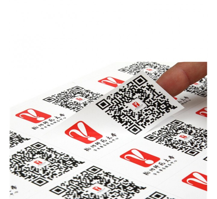 Oval Barcode Labels