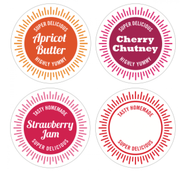 Custom Jar Labels
