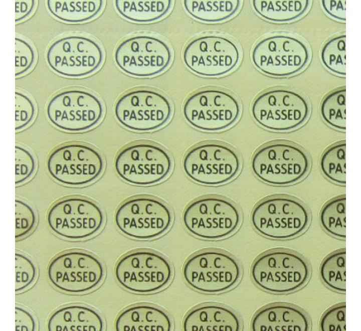 Oval Custom Labels