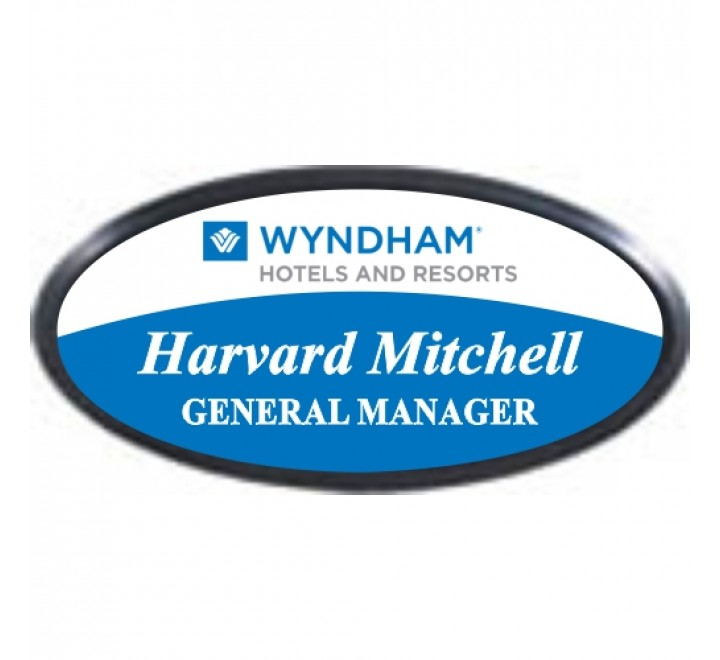 Oval Name Labels