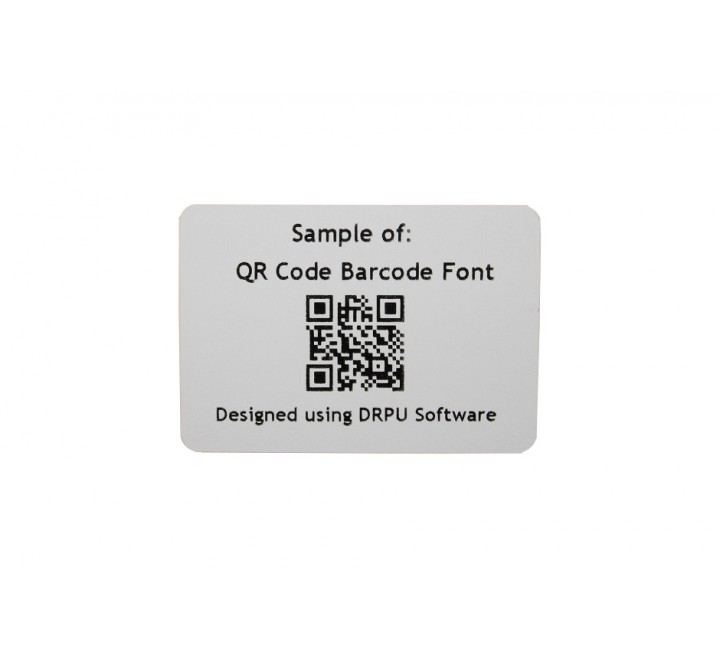 Rectangular Barcode Labels