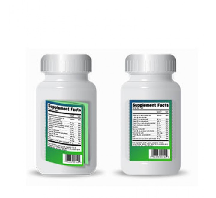 Rectangle Nutraceutical Product Labels