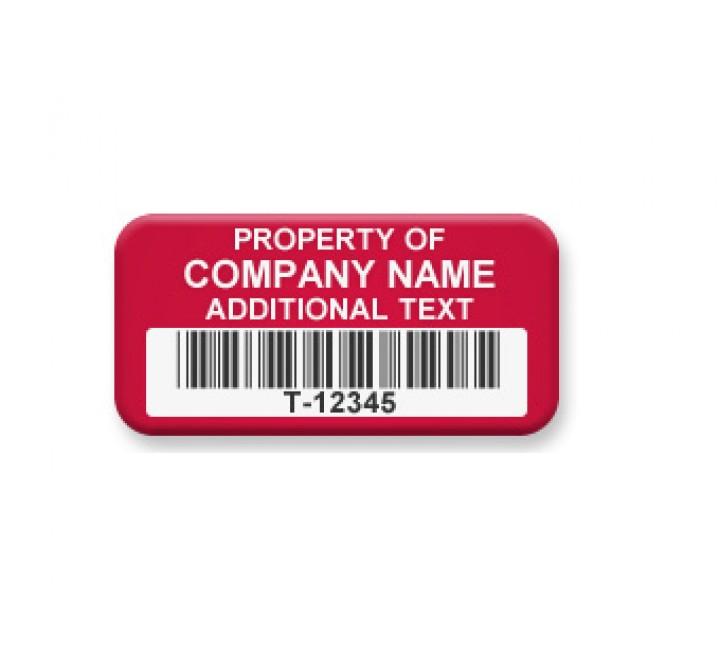 Rectangle Tamper Evident Security Labels