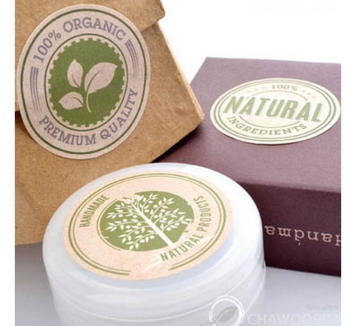 Round Packaging Labels