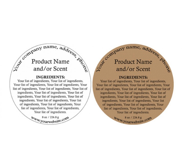 Round Product Labels