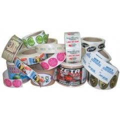 Custom Durable Laminated Labels