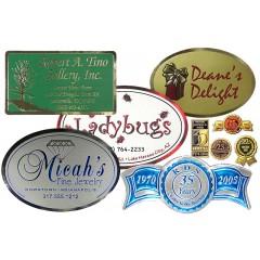 Custom Foiled Labels