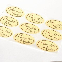 Oval Packaging Labels