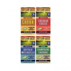 Rectangular Cheese Labels