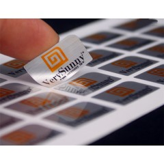 Rectangle Foiled Labels