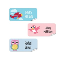 Rectangle Name Labels For Classroom