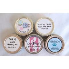 Round Lip Balm Labels