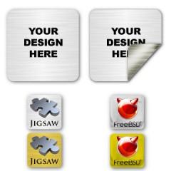 Square Custom Labels