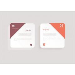 Square Premium Paper Labels