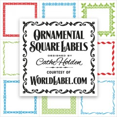 Square Product Labels