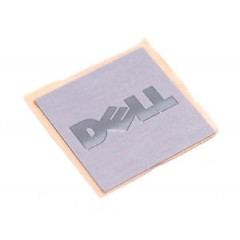 Square Brushed Aluminium Labels