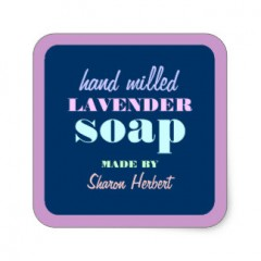 Square Soap Labels