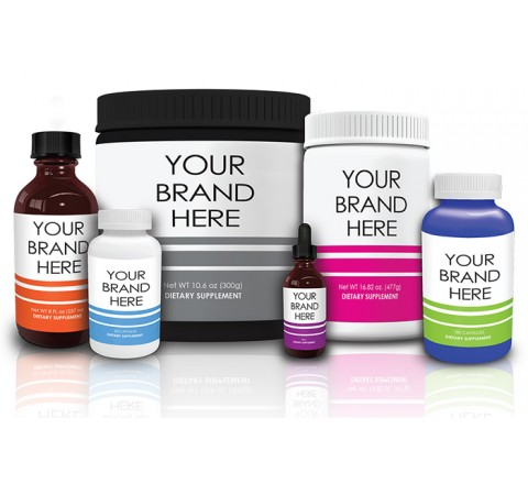Custom Nutraceutical Product Labels