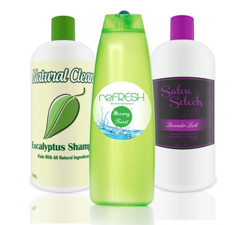 Custom Hair Serum Labels