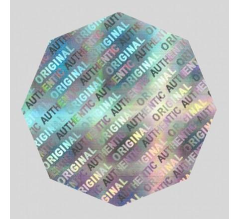 Die Cut 3D Hologram Labels