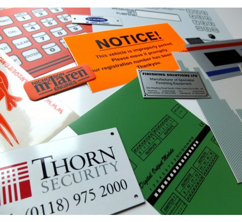 Die Cut Tamper Evident Security Labels