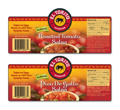 Rectangular Product Labels