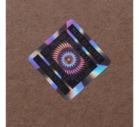 Square 3D Hologram Labels