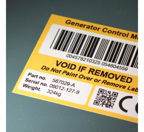 Custom Tamper Evident Security Labels